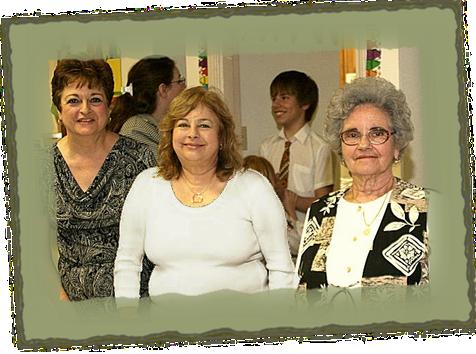 Ladies Serving Food at St. Sophia's