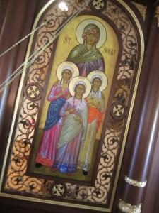 St. Sophia Icon