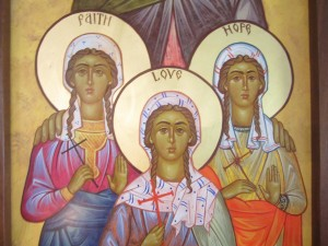 Ss. Faith, Hope, and Love Picture