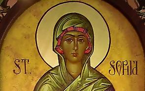 St Sophia Icon
