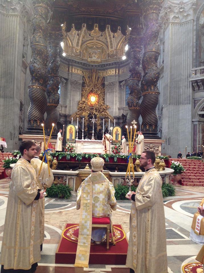 Patriarch Sviatoslav St Josaphat Transfer Rome Nov 2013