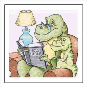 dinosaur-reading-bible